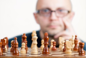 Imagining a chess move