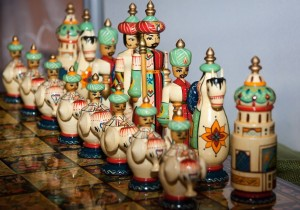 Chess set - apparently from the Middle East