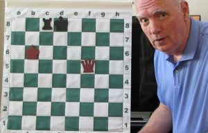 Whitcomb in a Youtube chess instructional video